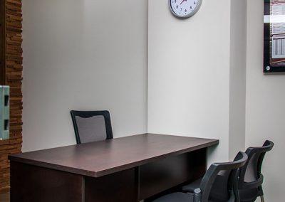 Interior oficina escritorio